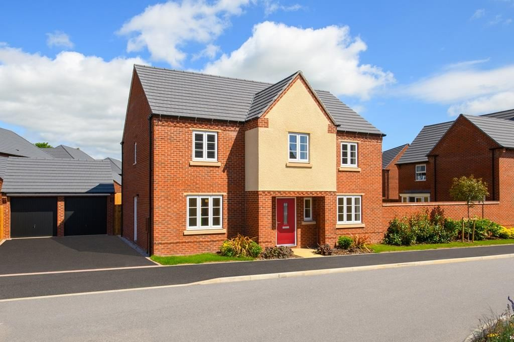 New Home 4 Bed Detached House For Sale In Winstone At Newton Lane Wigston Le18 Zoopla