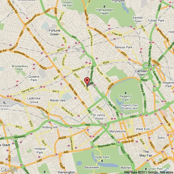 Property details for Flat 105 Langford Court 22 Abbey Road London