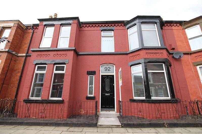 Property Details For 92 Ashbourne Road Aigburth Liverpool L17 9QJ