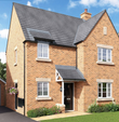Thumbnail to rent in The Malham, Newport Pagnell Road, Wootton Fields, Northamptonshire