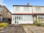 Thumbnail for sale in Llanbedr Road, Fairwater, Cardiff