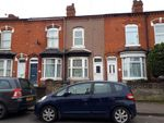 Thumbnail to rent in Solihull Road, Sparkhill, Birmingham