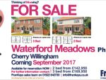 Thumbnail for sale in Waterford Meadows, Kingfisher Close, Cherry Willingham