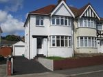 Thumbnail for sale in Harlech Crescent, Sketty, Swansea, City And County Of Swansea.