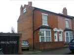 Thumbnail for sale in Beach Road, Sparkbrook, Birmingham