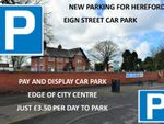Thumbnail to rent in Car Parking Spaces, Hereford, Hereford, Herefordshire