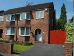Thumbnail for sale in Cuthbert Road, Cheadle, Greater Manchester