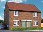 "Thumbnail 2 bedroom semi-detached house for sale in ""Halstead"" at Langton Road, Norton, Malton"