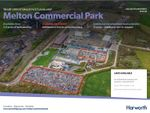 Thumbnail to rent in Land At Melton Commercial Park, Melton Mowbray, Leicestershire