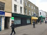 Thumbnail to rent in High Street, Margate