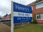 Thumbnail for sale in Charter Avenue, Coventry