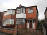Thumbnail for sale in Melville Road, Stretford, Manchester