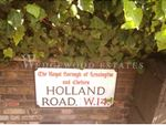 Thumbnail to rent in Holland Road, Kensington, London