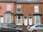 Thumbnail for sale in Wellington Road, Handsworth, Birmingham