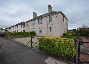 Thumbnail 2 bed flat for sale in Irvine Road, Crosshouse, Kilmarnock