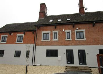 Thumbnail 2 bedroom town house for sale in Station Road, Kegworth, Derby