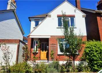 Thumbnail 3 bed detached house for sale in Mentone Road, Poole