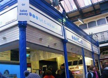 Thumbnail Restaurant/cafe for sale in Cafe & Sandwich Bars LS2, Leeds Kirkgate Market, West Yorkshire