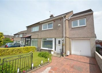 Thumbnail 3 bed semi-detached house for sale in Halton Gardens, Garrowhill, Glasgow
