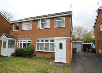 Thumbnail 3 bedroom semi-detached house for sale in Wickham Gardens, Wolverhampton