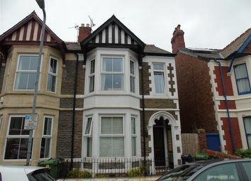 Thumbnail 4 bed property to rent in Alma Road, Penylan, Cardiff