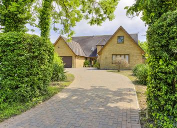 Thumbnail 6 bed detached house for sale in Spaldwick Road, Stow Longa, Huntingdon