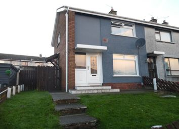 Thumbnail 2 bed terraced house to rent in The Glade, Newtownabbey