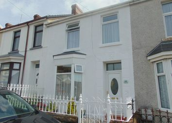 Thumbnail 3 bed terraced house for sale in Gilbert Road, Llanelli