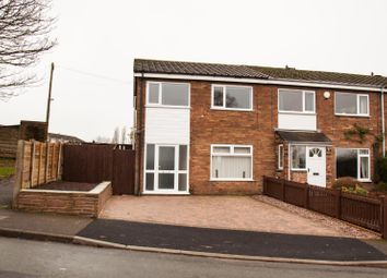Thumbnail 3 bed end terrace house to rent in Somerton Road, Macclesfield