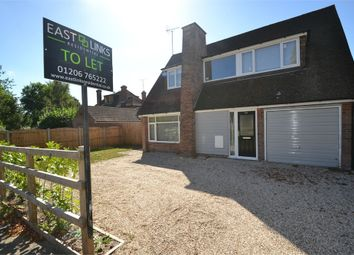 Thumbnail 3 bed detached house to rent in Catchpool Road, Colchester, Essex