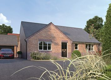 Thumbnail 3 bed detached bungalow for sale in The Claydon, Scarsdale Green, Bolsover