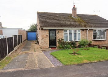 Thumbnail 2 bed bungalow for sale in Keats Close, Enderby