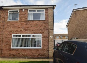 Thumbnail 3 bedroom semi-detached house for sale in Paxdale, Sutton Park, Hull, East Yorkshire