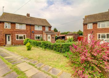 Thumbnail 4 bed semi-detached house for sale in Goodmayes Close, Bedford