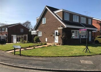 Thumbnail 3 bed semi-detached house for sale in Padstow Close, Macclesfield
