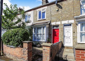 Thumbnail 3 bed terraced house for sale in Orchard Street, Peterborough