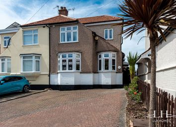 Thumbnail 4 bed semi-detached house for sale in Warrington Gardens, Hornchurch
