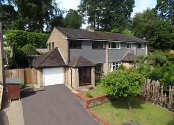 Thumbnail 3 bed semi-detached house for sale in Clovelly Drive, Hindhead