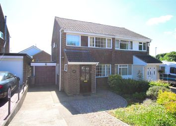 Thumbnail 3 bed semi-detached house for sale in Lowick Court, Moulton Leys, Northampton