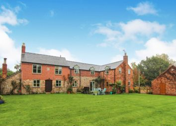 Thumbnail 4 bed detached house for sale in Maesbury Marsh, Oswestry