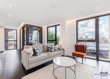 Thumbnail 2 bed flat to rent in Ponton Road, London