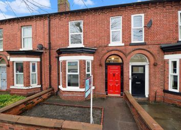 Thumbnail 4 bed terraced house for sale in Wilderspool Causeway, Warrington, Cheshire