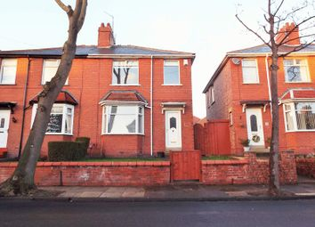 Thumbnail 3 bed semi-detached house for sale in Delaval Avenue, North Shields