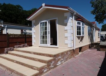 Thumbnail 2 bed mobile/park home for sale in First Avenue, Waltham Abbey