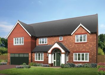 Thumbnail 5 bed detached house for sale in The Farnham, The Hawthorns, Common Lane, Lach Dennis, Northwich, Cheshire