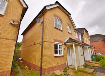Thumbnail 3 bed end terrace house to rent in Ingram Close, Hawkinge, Folkestone, Kent
