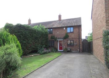 Thumbnail 3 bed end terrace house for sale in The Pastures, Upper Caldecote, Biggleswade