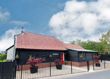 Thumbnail 4 bed barn conversion for sale in Ipswich Road, Nedging Tye, Ipswich