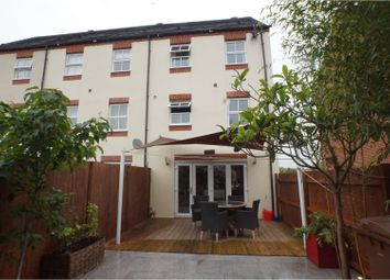 Thumbnail 3 bed town house for sale in Blakeman Way, Lichfield
