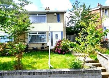 Thumbnail 2 bed semi-detached house for sale in Roseby Road, Peterlee
